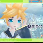 Rin & Len Green Field UI skin