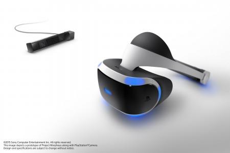The Project Morpheus VR Headset Prototype