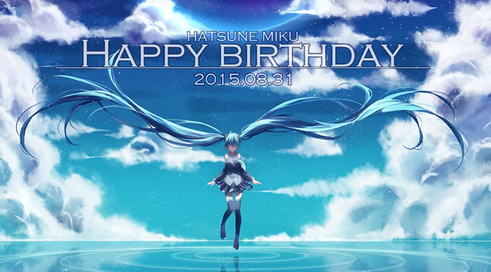 Miku 8th Birthday