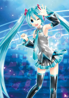 Project Diva X Official artwork by KEI