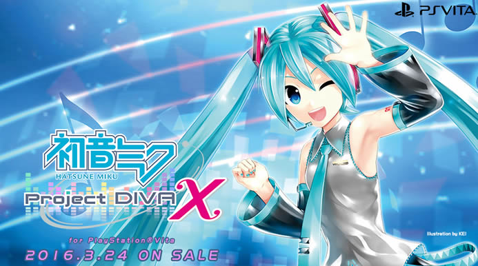 Hatsune miku project diva x vita announced for march 24th 2016 new promo video released - Hatsune miku project diva x ...