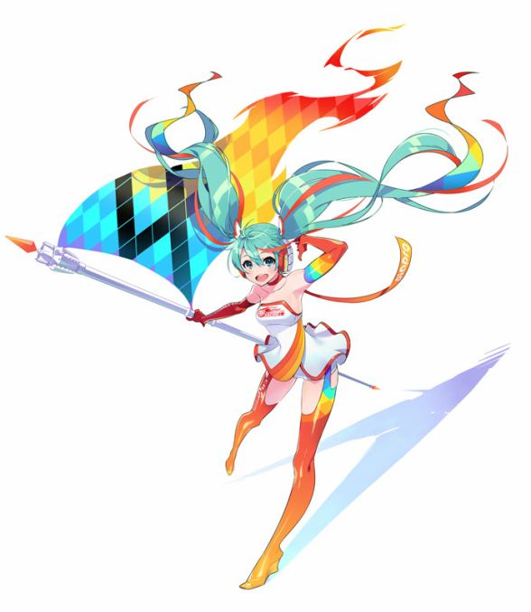 Racing Miku 2016 (C)Mai Yoneyama / Crypton Future Media, INC. www.piapro.net