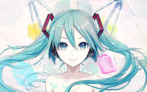 iXima's tentative Hatsune Miku V4X Illustration