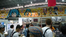 Good Smile Company goods booth!