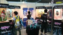 VOLKS Dollfie Dream booth!