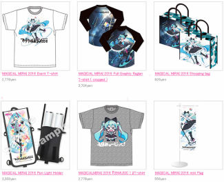 Online store sample images