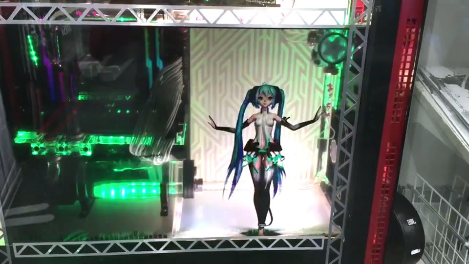 Hatsune Miku Dances Inside Your Computer With These