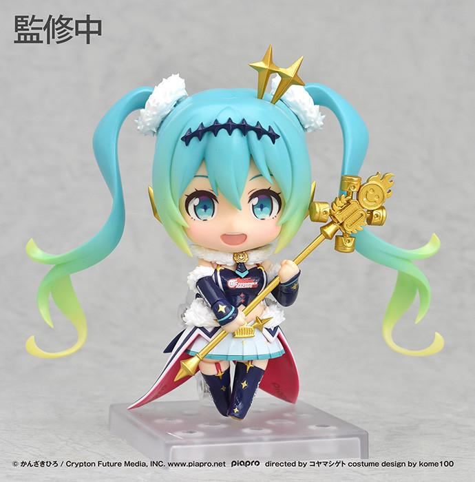 Good Smile Racing Miku Good Smile Company Personal Sponsorship Nendoroid Action Figure Course 2012 Version