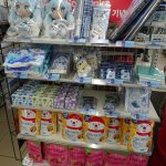 You could find Snow Miku goods inside Lawson stores everywhere!