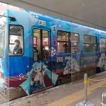 The Snow Miku Street Car.